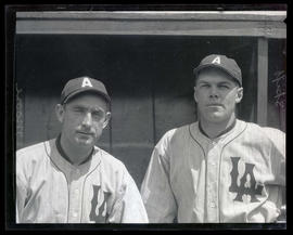 Skiff and Moore, baseball players for Los Angeles