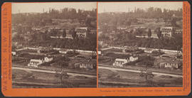"""Panorama of Victoria (B. C.) from Christ Church, (No. 16.)"" (Stereograph 5292)"