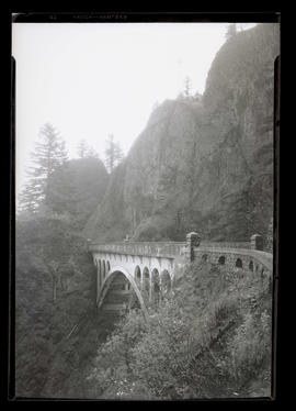 Shepperd's Dell bridge on Columbia River Highway