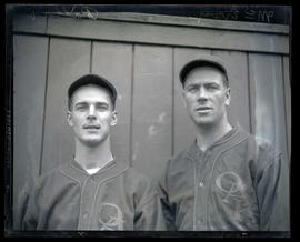 McEvoy and Pallao, baseball players for Oakland