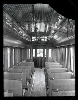 Interior of train car #267