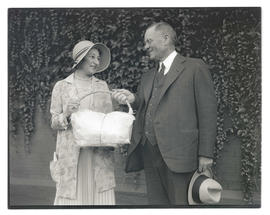 Ann Kyle Robinson and unidentified man