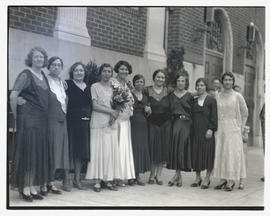 Unidentified women at wedding?, Portland