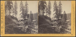 """View on the Columbia River, from the O.R.R., Cascades."" (Stereograph 1282)"