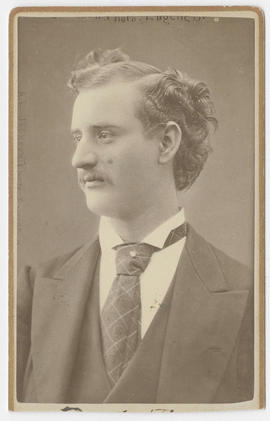 A. L. Jackson portrait of an unidentified man