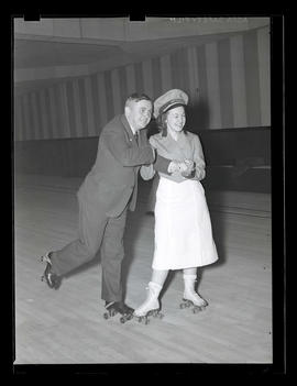 Joseph K. Carson and roller-skating instructor?