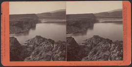 """The Passage of the Dalles, Col. River, Or."" (Stereograph E27)"