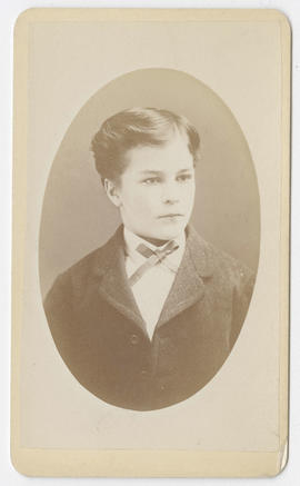 Joseph Buchtel portrait of an unidentified boy