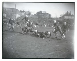 Football game between Grant High and Jefferson High