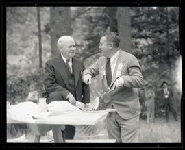 Congressman Charles H. Martin and Portland Mayor Joseph K. Carson at Democratic picnic