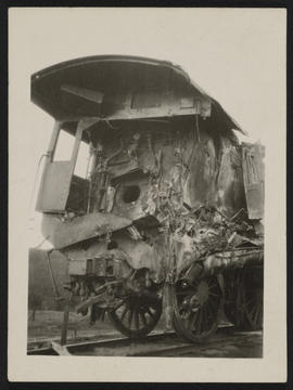 Wreck of Great Northern Railway Mail Train