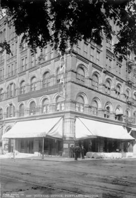 Dekum Building, Oregon Journal, Portland, circa 1906