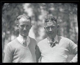 Alex Duncan and Babe McHugh, golfers
