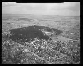 Aerial view of Mt. Tabor, Portland