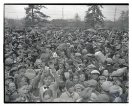 Crowd of people at unidentified event