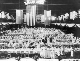 Prior to banquet, Lewis and Clark Centennial Exposition, 1905