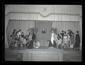 Marylhurst College students performing play, 1944?