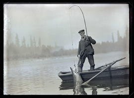 Mr. Spooner Fishing