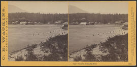 """Upper Cascades, Columbia River."" (Stereograph 1276)"