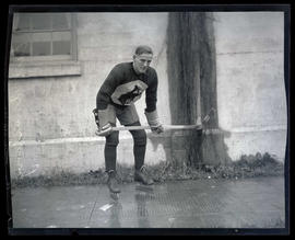 Earl Amstrong, hockey player for Portland Buckaroos