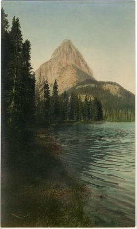 Grinnell Mountain from Lake McDermott