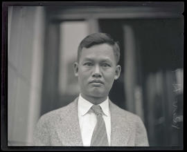 Reverend Q. D. Hu, pastor of Portland Chinese Presbyterian Church