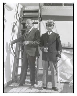 "Captain ""Stormy Pete"" Petersen and V. H. Pinckney"