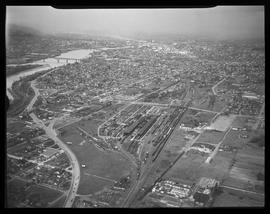 Aerial view of Southeast Portland
