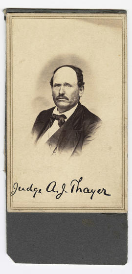 Thayer, Judge Andrew Jackson