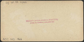 "Verso of, ""'Old Saw Dust,' Port Ludlow, W. T."" (Stereograph 5259)"