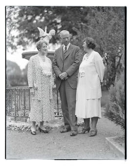 Alice Sheets Smoot?, Reed Smoot? and unidentified woman