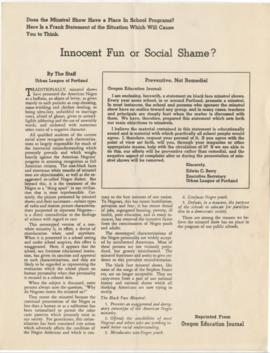 """Innocent Fun or Social Shame?"""