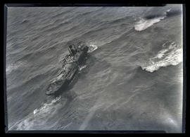 Wreckage of steamship Laurel near mouth of Columbia River