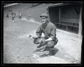 Dell Baker, baseball player for Oakland