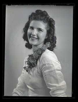 1942 Portland Rose Festival Princess Leona Kunce, Girls Polytechnic High School