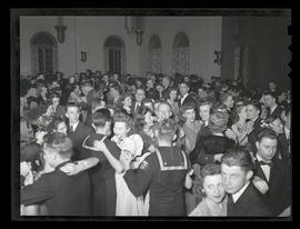 Students at Marylhurst College dance, 1944?
