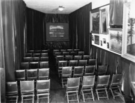 Screening room, Kiser Studio