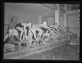Swimmers at Multnomah Athletic Club, Portland