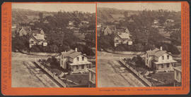 """Panorama of Victoria (B. C.) from Christ Church, (No. 12.)"" (Stereograph 5288)"