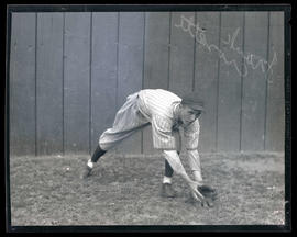Frank Crosetti, baseball player, possibly for Seals