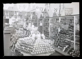 Interior of Independent Grocers Alliance Model Store, Portland