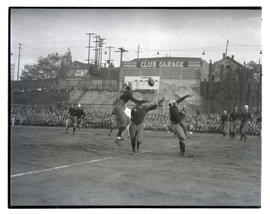 Football game at Multnomah Stadium