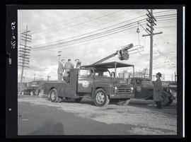 Portland General Electric utility truck