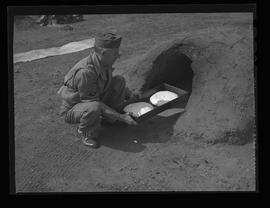 Earthen oven at United States Army Quartermaster Unit Training Center, Vancouver