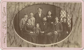 Royal, Reverend Thomas Fletcher and family