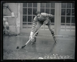Denny Edge, hockey player for Spalding Aces