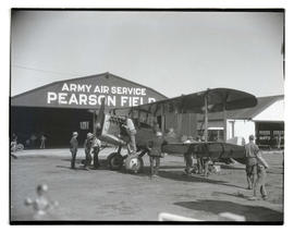 Biplane at Pearson Field in Vancouver, Washington