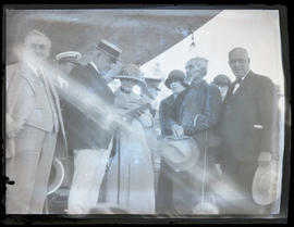 President Warren G. Harding and First Lady Florence Harding in Meacham, Oregon