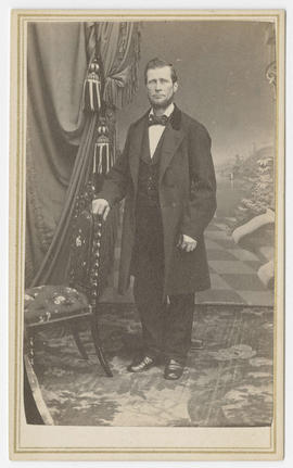 Portrait of an unidentified man from Bradley & Rulofson Studio
