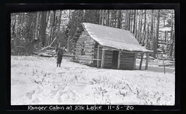 Oak Grove project, ranger cabin at elk Lake
